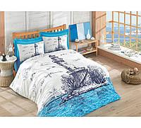 Хлопковый комплект постельного белья ЕВРО размера Cotton Box LIGHT HOUSEMAVI CB03