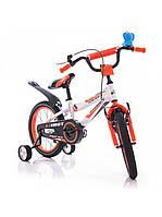Детский двухколесный велосипед AZIMUT FIBER 16 дюймов