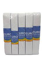 Резинка для одежды широкая белая