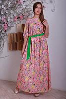Летний длинный сарафан, женское платье в пол, вечернее платье в пол