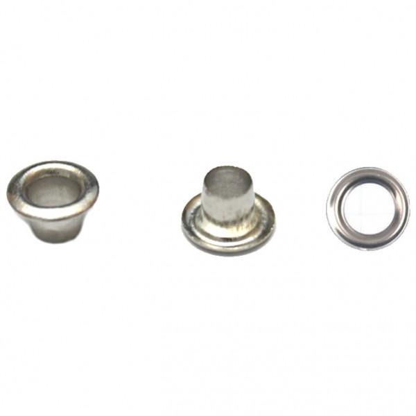Блочка никель D4мм (1000шт.) антимагнит + кольца