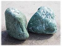Мраморная галька зеленая Альпы 100-200 мм, фото 1