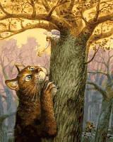 Раскраска по номерам ТМ Mariposa Ангел и его кот
