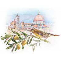 Схема для вышивания бисером М/П Арт.4150 Под солнцем Тосканы