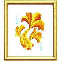 Набор для вышивания гладью Золотая рыбка