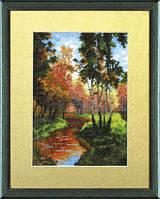 Набор для вышивки крестиком №515 Золотая осень