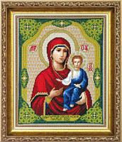 Набор для вышивки крестиком №525 Икона Образ Пресвятой Богородицы Одигитрия Смоленская