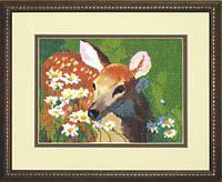 Набор для вышивки крестиком №569 Олененок