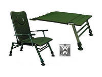 Кресло карповое складное Elektrostatyk F5R с подставкой для ног