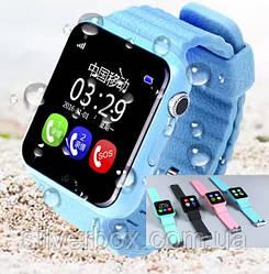 Уникальные детские умные часы V7K Smart Watch с GPS, Bluetooth, камерой и плеером. Оригинал