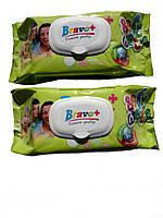 Влажные салфетки Bravo+, семейная упаковка 120 шт.( Bravo-plus Браво )