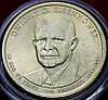 Монета США. 1 доллар 2015 г. Дуайт Эйзенхауэр - 34