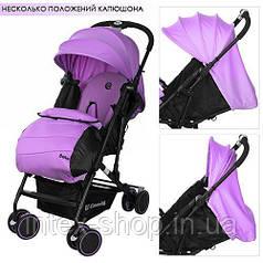 Детская прогулочная коляска Solo Фиолетовая (M 3428-9)