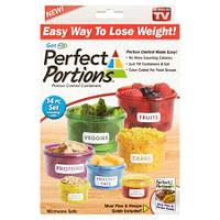 Комплект контейнеров для порционного контроля Потеря веса Perfect Portion Идеальная порция