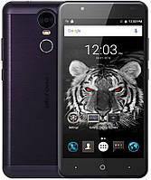 "UleFone Tiger black 2/16 Gb, 5.5"", MT6737, 3G, 4G"