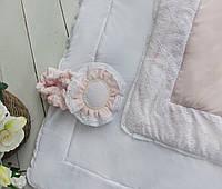 Конверт - одеяло Розовый цветок венса - осень