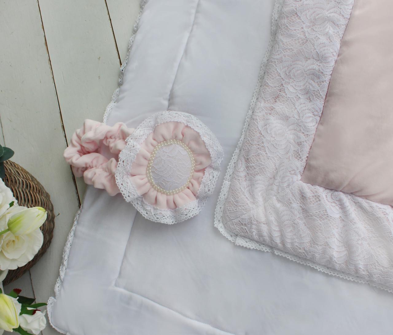 Конверт - одеяло Розовый цветок венса - осень, фото 1