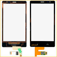 Сенсор (тачскрин) Nokia X2 Dual Black Original