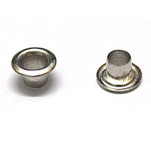 Блочка никель D8мм (1000шт.) + кольца
