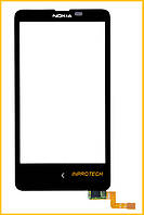 Сенсор (тачскрин) Nokia X Dual Sim Black Original