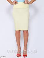 Женская юбка 44 Голубой