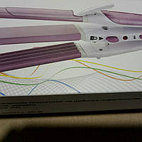 Плойка стайлер 3 в 1 Pro motec PM 1213, Стайлер для завивки волос, Плойка гофре, Утюжок для волос