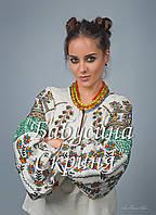 Заготовка жіночої сорочки для вишивки нитками/бісером БС-102, фото 1