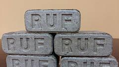 Топливные брикеты RUF из дуба, сосны: Экспорт, доставка по Украине