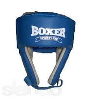 Шлем каратэ Boxer Элит кожа L