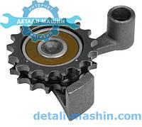 Рычаг натяжного устройства ГАЗ двигатель 406.10,514 ЕВРО-2 со звездочкой  литьё (пр-во ДК)