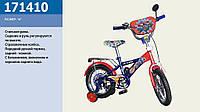 Велосипед двухколесный 14 дюймов 171410 Синий