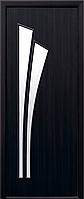Двери межкомнатные Новый Стиль, МОДЕРН, модель Лилия Экошпон, со стеклом сатин