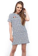 Женское платье в полоску Wolff 7198