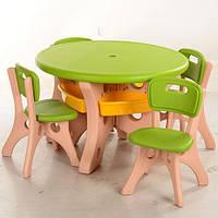 Детский столик со стульчиками  B0301