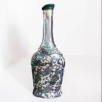 Декор бутылки в подарок пограничнику Подарок мужчине на 23 февраля