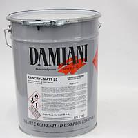 Акриловый матовый лак по металлу RAINCRYL MATT 25