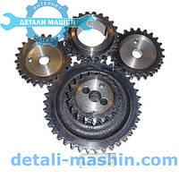 Зірочки двигуна ЗМЗ 406 комплект ГРМ Євро-2 (тупий зуб) (пр-во ДК)
