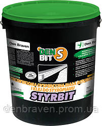 Битумная мастика и клей для пенополистирола Den Bit-S STYRBIT 10гк