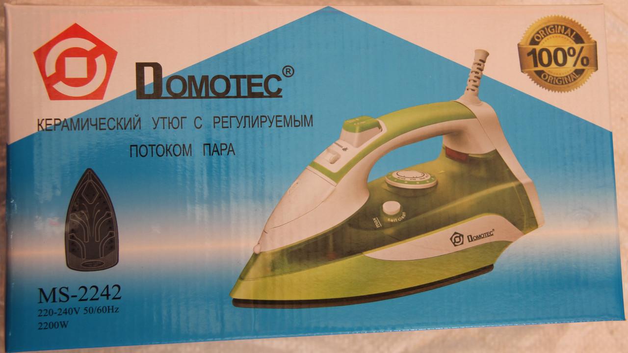 Утюг с керамическим покрытием Domotec MS-2242 (2200W)