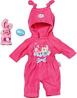 Одежда для кукол Беби Борн комбинезон с капюшоном Baby Born Zapf Creation 820841