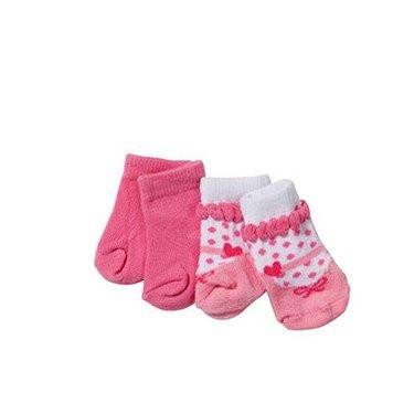 Шкарпетки для ляльок Бебі Борн 2 пари Baby Born Zapf Creation 819517