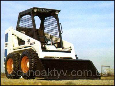 40-я серия погрузчиков Bobcat, которые приводились в движение только гидростатическим приводом.