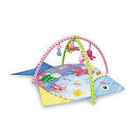 Развивающийся игровой коврик Lorelli Ocean 115*115 см