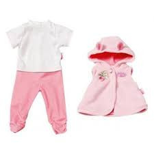 Одежда для куклы Baby Annabell Беби Анабель Комбинезон и куртка с капюшоном Zapf Creation 794505