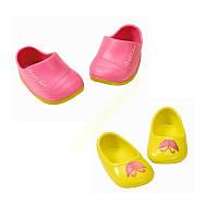 Обувь кукол Беби Борн ботинки 2 пары Baby Born Zapf Creation 822159 a