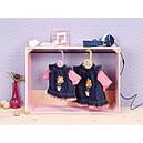 Одежда куклы Беби Борн Джинсовое платье Baby Born Zapf Creation 870006, фото 2