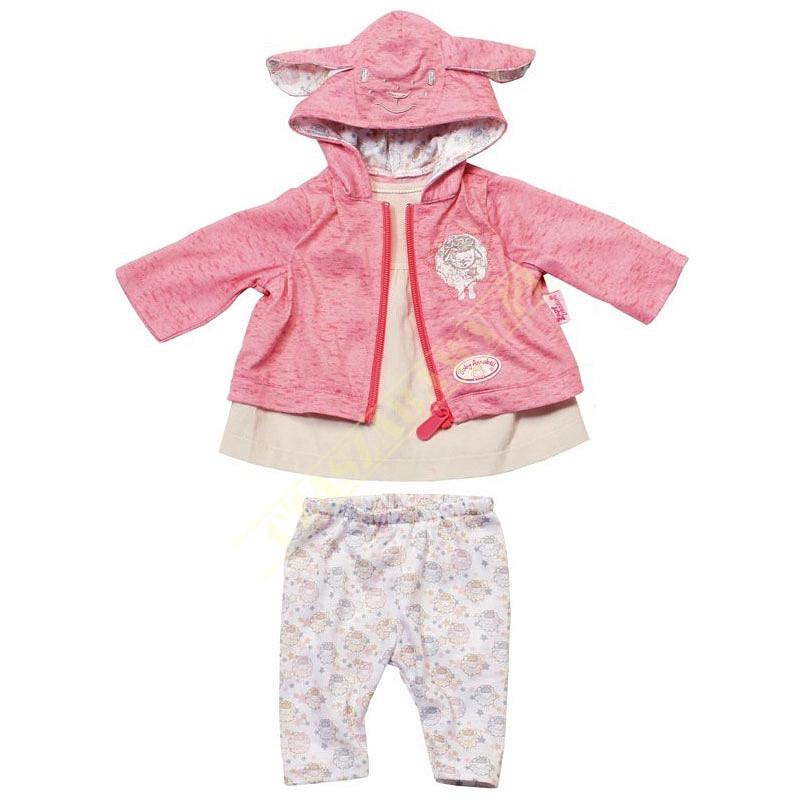 Одежда куклы Baby Annabell Беби Анабель набор для прогулки 3 в 1 Zapf Creation 700105