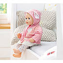 Одежда куклы Baby Annabell Беби Анабель набор для прогулки 3 в 1 Zapf Creation 700105, фото 3