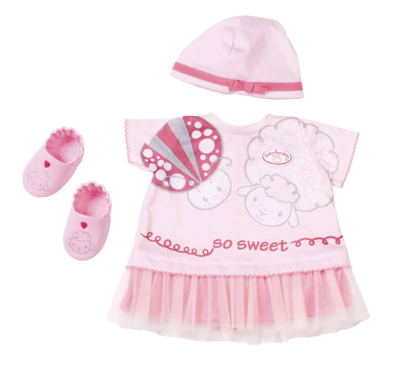 Одежда куклы Baby Annabell Беби Анабель комплект праздничной одежды Zapf Creation 700198
