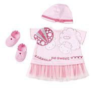 Одежда для куклы Baby Annabell Беби Анабель комплект праздничной одежды Zapf Creation 700198, фото 1